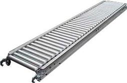 Roll-A-Way 1 and 3/8 Inch Gravity Roller Conveyor with Steel Rollers