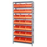 Quantum Stackable Shelf Bin Steel Shelving