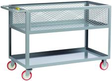 12-inch Deep Shelf Truck with Mesh Sides Model No. DSX2448-X12-5PY
