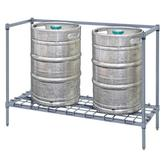 Quantum 1 Tier Keg Rack