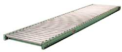 "196G Medium Duty Galvanized Roller Gravity Conveyor 12"" Roller Length"
