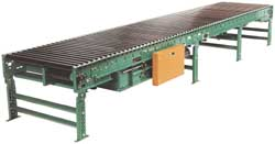 251CALR Heavy Duty Cam Adjusted Live Roller Conveyor 18 inch Width