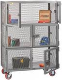Little Giant 3 Compartment Mobile Storage Locker Model No. SC2-6D-2448-6PY