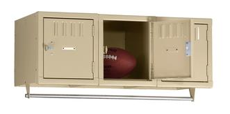 3 Person Wall Mounted Lockers