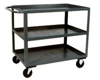 Stromberg 3 Shelf Steel Service Carts