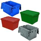 Akro-Mils Attached Lid Containers 39120