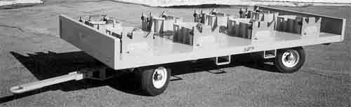 Nutting 4 Wheel Knuckle Steer Trailer