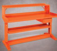 Equipto Workcenter Bench with Lower Shelf 30 Inches Deep