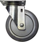 Stromberg 5 Inch CA4 Series Swivel Medium Duty Caster Model No. CA4-5GR