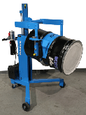 Model 82A-GT-125 has Battery Power Drum Lift,  and Geared Drum Tilt with Hand Crank