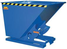 Vestil Self-Dumping Steel Hopper with Bumper Release - Heavy Duty