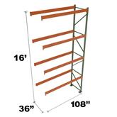 Stromberg Teardrop Storage Rack Add-On Unit without Deck