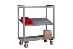 Little Giant Adjustable Height Multi-Shelf Truck