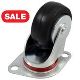 STP8230-04-HRB-TG-SL Aircraft Loading Casters: Hard Rubber Wheel Thread Guards