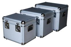 Aluminum Storage Cases - Set of 3