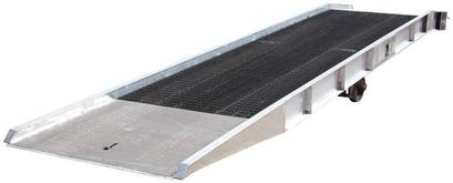 Vestil Aluminum Yard Ramps with Steel Grating