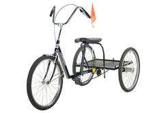 Black Industrial Bicycle