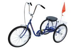 Blue Industrial Bicycle