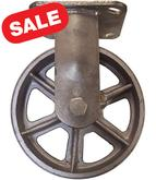 CA6 Series Rigid Steel Casters