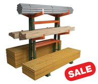 Medium Duty Cantilever Rack Double Sided