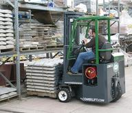 Combilift Moving and Storing Building Materials