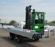Combilift Moving Galvanized Steel From The Process Center