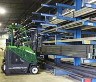COMBILIFT Narrow Aisle Picking At A Steel Supply Warehouse