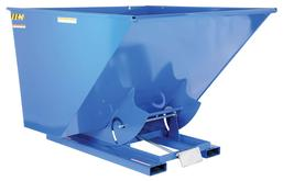 Vestil 2-1/2 Yard Self-Dumping Steel Hopper With Bumper Release, Model D-250-HD