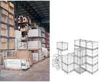 Dyna-Rack Tier-Rack™ Dyna Pallet Stacking Frames