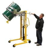 Vestil DRUM-LRT-EC Economy Portable Drum Lifter Rotator and Transporter