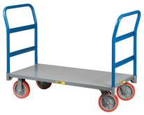 Little Giant Double Handle Platform Truck Model No. NBB-2448-8PY-2H