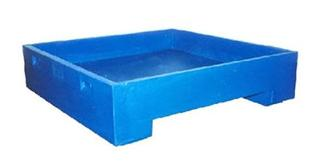 DWP-11 Double Walled Flat Bottom Container