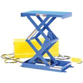 Vestil Double Shorty Narrow Scissor Lift Table Model No. EHLTSD1628-1-35