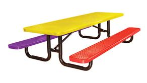 Expanded Metal Childrens Picnic Tables