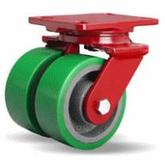 Hamilton Forged Steel Dual Wheel Casters