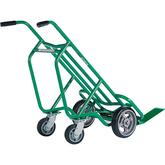 Four-Wheel Deep Frame Bag & Box Hand Truck - Aluminum Frame