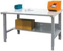 Industrial Workbench Plus Bottom Shelf