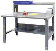 Industrial Workbench Plus Bottom Shelf / Riser