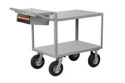 G-2436-9P-WSP Instrument Cart with Writing Shelf and Storage Pocket