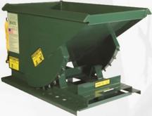Heavy Duty Self Dumping Hoppers with Formed Base