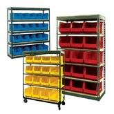 Stromberg Jumbo Bin Storage Units with Bins