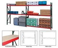 FastRak Bulk Storage Rack Units With Particle Board Decking