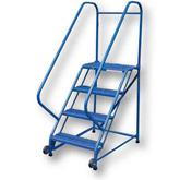Vestil Tip-N-Roll Ladders - Non-Straddle Design