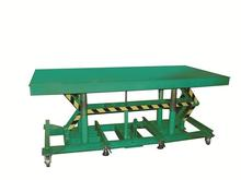 Lexco Long Deck Lift Tables - 5000 lb Capacity