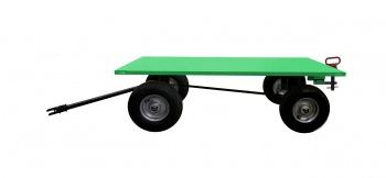 Valley Craft Precision Track Quad Steer Trailer System