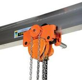 Vestil Low Headroom Combination Chain Hoist Trolley