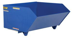 Vestil Low Profile 90 Degree Self-Dumping Steel Hoppers