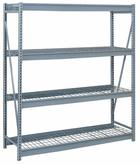 Lyon Bulk Storage Racks - 84 Inch Wide - Wire Decking