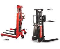 Manual and Semi-Electric Stackers NEW