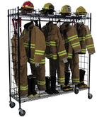 Groves Incorporated Mobile Single Sided Ready Rack in Black